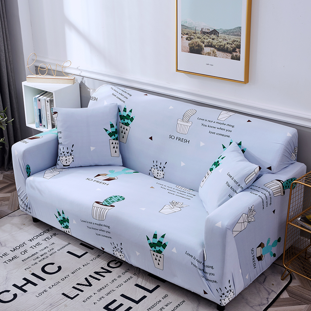 1-2-3-4-Floral-Elastic-Sofa-Cover-Slipcover-Stretch-Couch-Furniture-Protector thumbnail 128