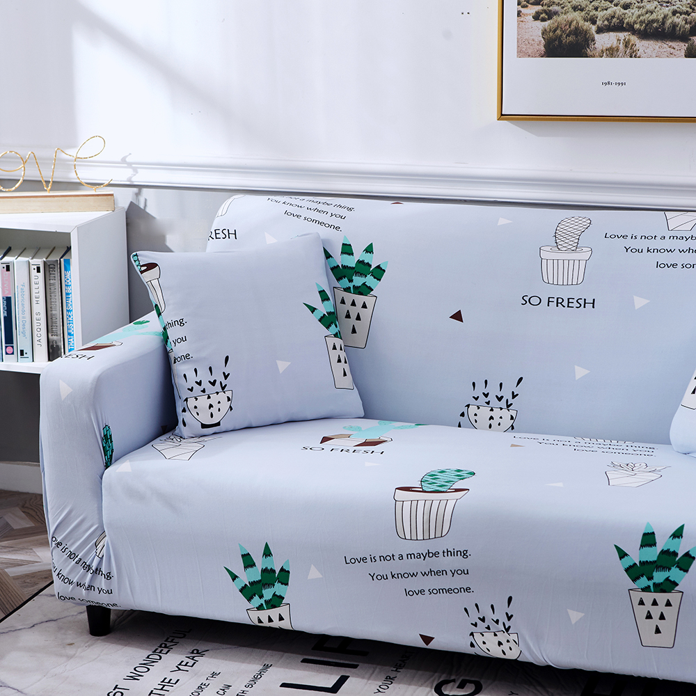 1-2-3-4-Floral-Elastic-Sofa-Cover-Slipcover-Stretch-Couch-Furniture-Protector thumbnail 130