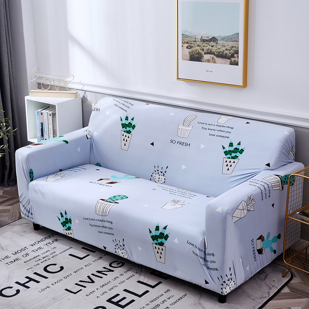 1-2-3-4-Floral-Elastic-Sofa-Cover-Slipcover-Stretch-Couch-Furniture-Protector thumbnail 131