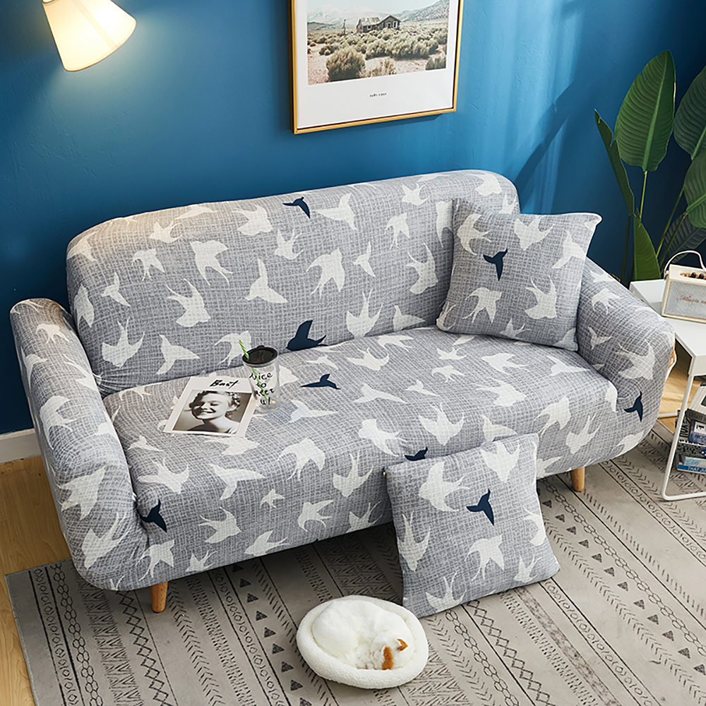 1-2-3-4-Floral-Elastic-Sofa-Cover-Slipcover-Stretch-Couch-Furniture-Protector thumbnail 141
