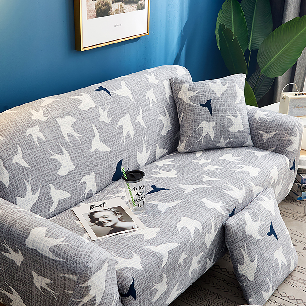 1-2-3-4-Floral-Elastic-Sofa-Cover-Slipcover-Stretch-Couch-Furniture-Protector thumbnail 142