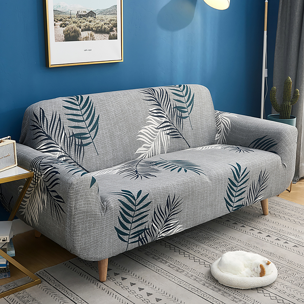 1-2-3-4-Floral-Elastic-Sofa-Cover-Slipcover-Stretch-Couch-Furniture-Protector thumbnail 150
