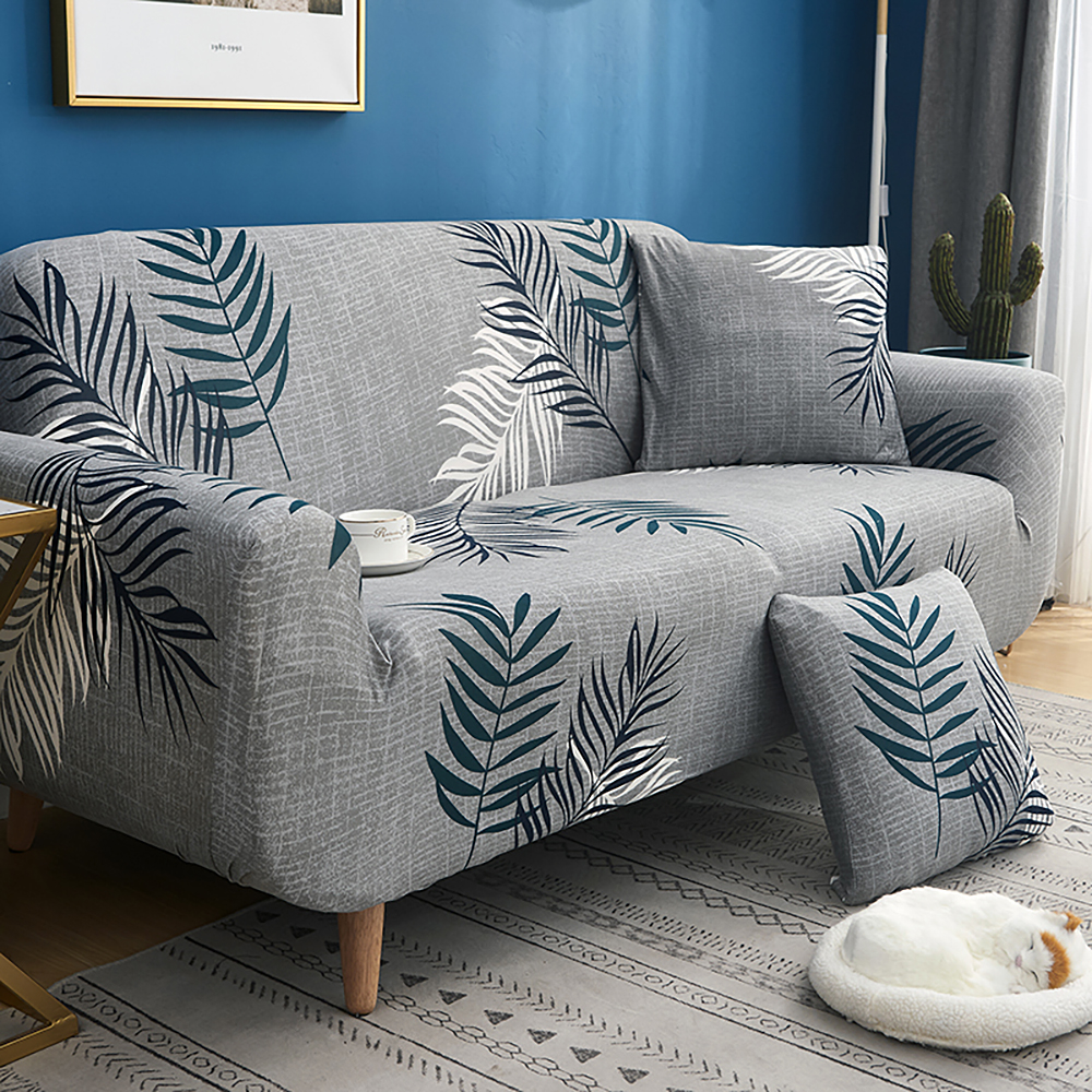 1-2-3-4-Floral-Elastic-Sofa-Cover-Slipcover-Stretch-Couch-Furniture-Protector thumbnail 152