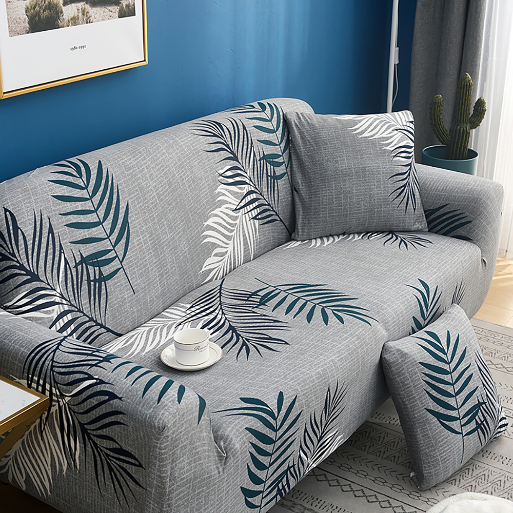 1-2-3-4-Floral-Elastic-Sofa-Cover-Slipcover-Stretch-Couch-Furniture-Protector thumbnail 153