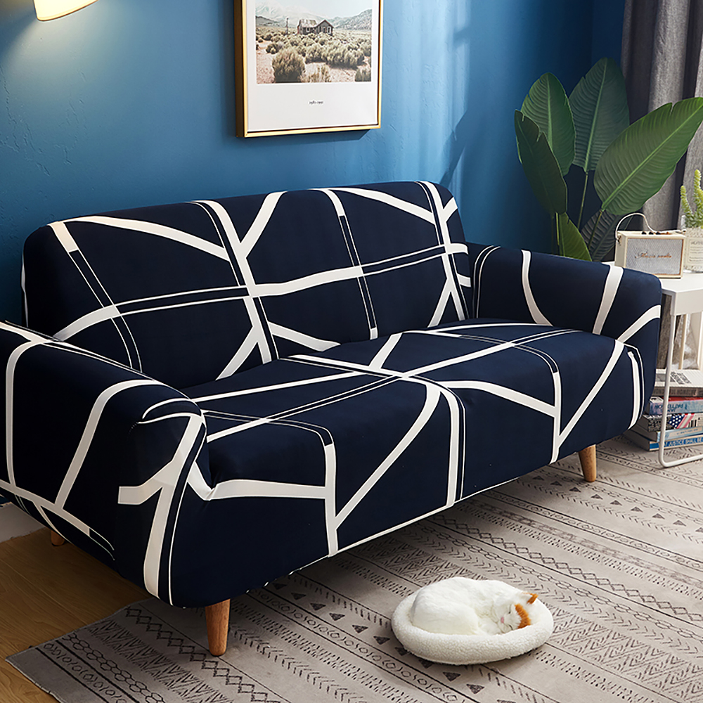 1-2-3-4-Floral-Elastic-Sofa-Cover-Slipcover-Stretch-Couch-Furniture-Protector thumbnail 162