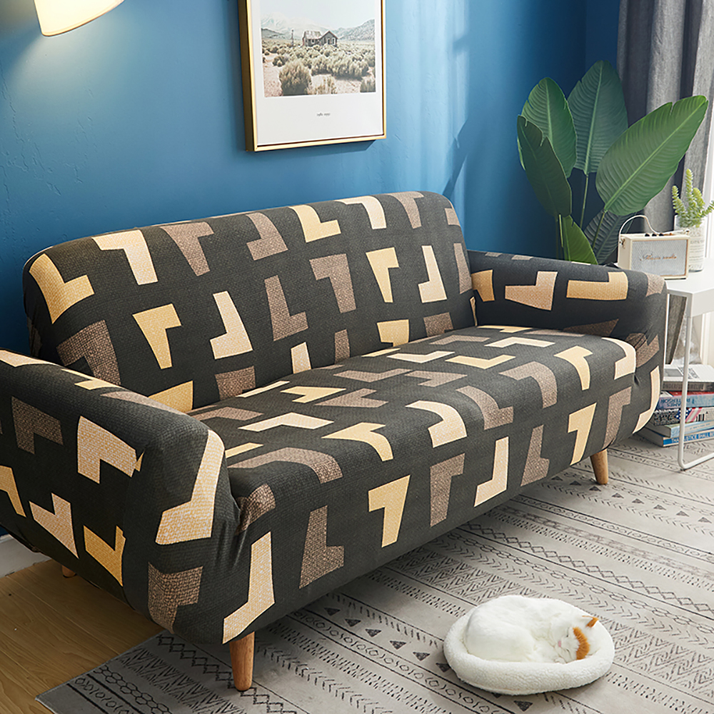 1-2-3-4-Floral-Elastic-Sofa-Cover-Slipcover-Stretch-Couch-Furniture-Protector thumbnail 172