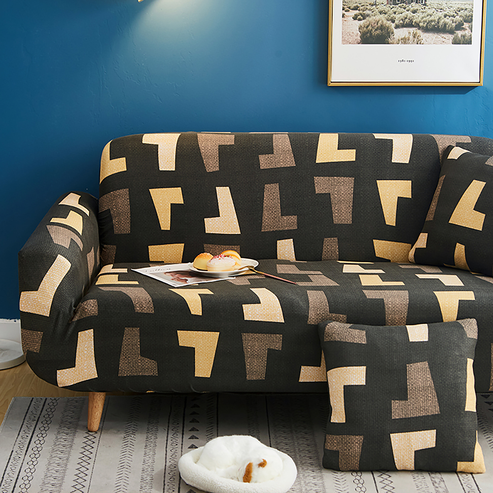 1-2-3-4-Floral-Elastic-Sofa-Cover-Slipcover-Stretch-Couch-Furniture-Protector thumbnail 173