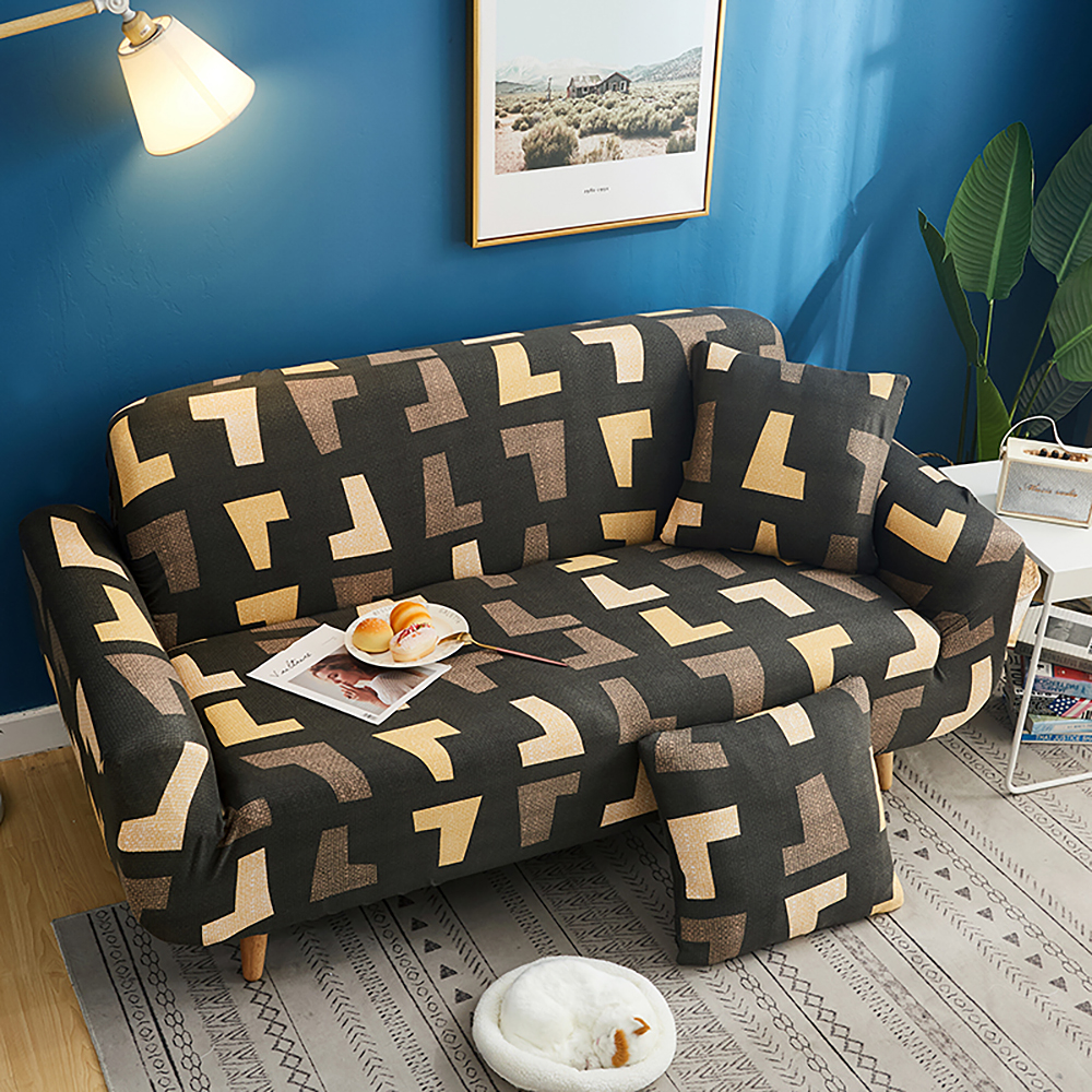 1-2-3-4-Floral-Elastic-Sofa-Cover-Slipcover-Stretch-Couch-Furniture-Protector thumbnail 174