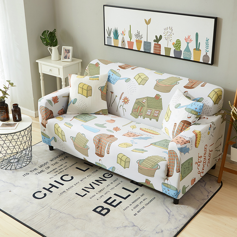1-2-3-4-Floral-Elastic-Sofa-Cover-Slipcover-Stretch-Couch-Furniture-Protector thumbnail 183