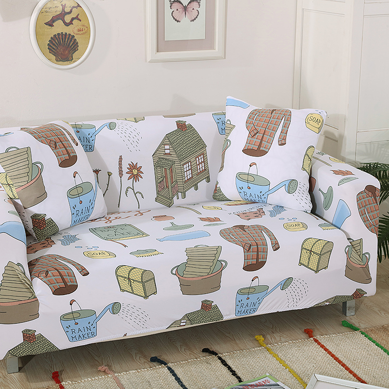 1-2-3-4-Floral-Elastic-Sofa-Cover-Slipcover-Stretch-Couch-Furniture-Protector thumbnail 185