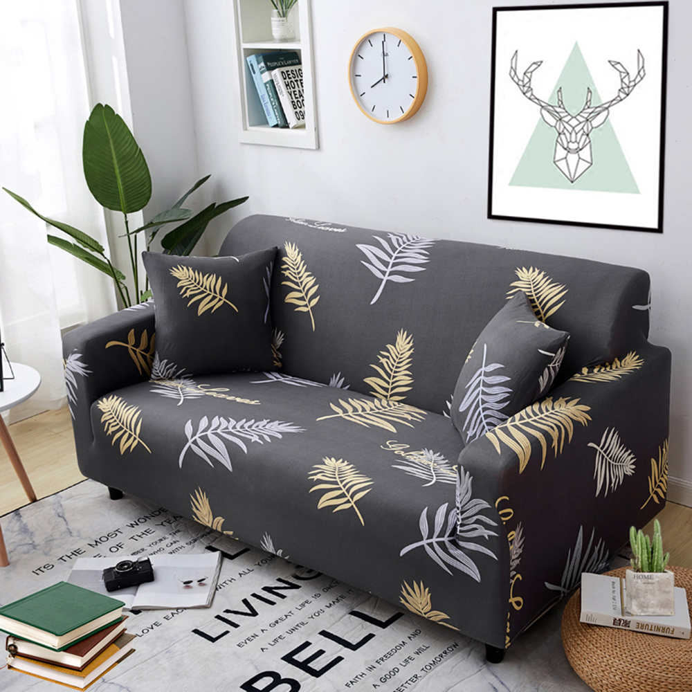1-2-3-4-Floral-Elastic-Sofa-Cover-Slipcover-Stretch-Couch-Furniture-Protector thumbnail 195