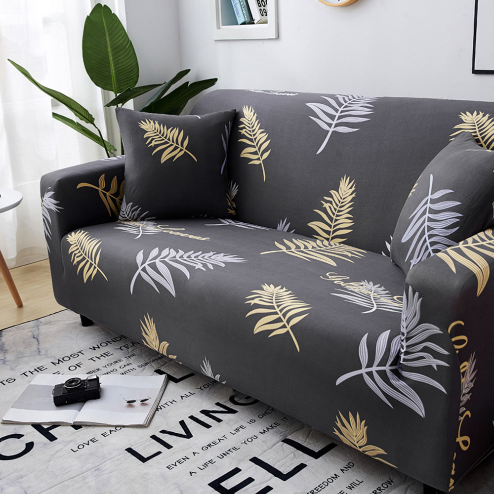 1-2-3-4-Floral-Elastic-Sofa-Cover-Slipcover-Stretch-Couch-Furniture-Protector thumbnail 196