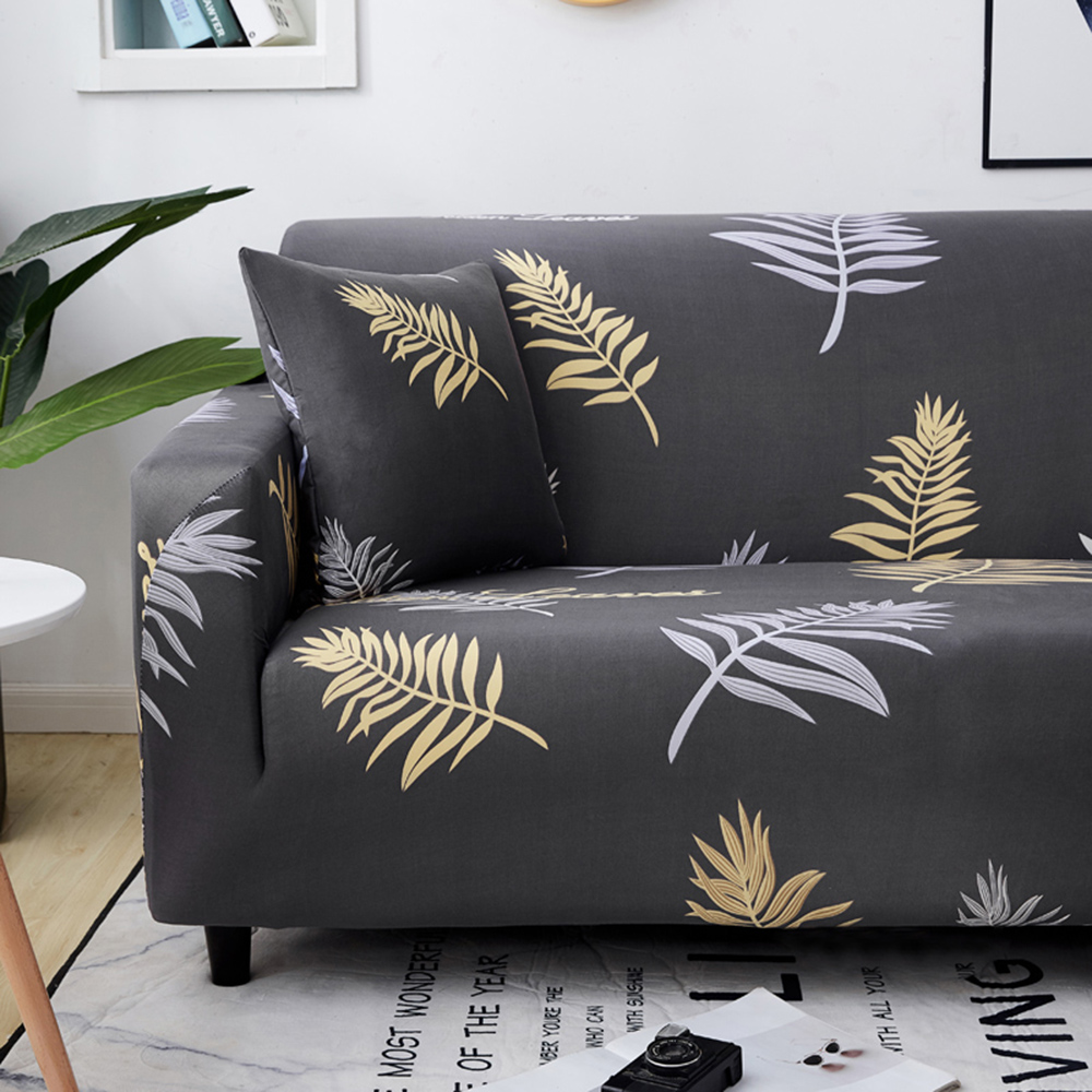 1-2-3-4-Floral-Elastic-Sofa-Cover-Slipcover-Stretch-Couch-Furniture-Protector thumbnail 197