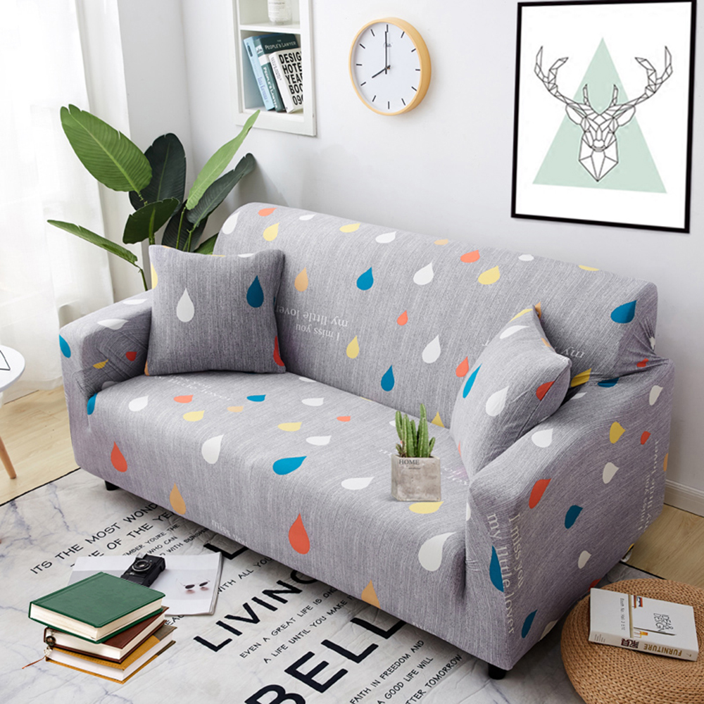 1-2-3-4-Floral-Elastic-Sofa-Cover-Slipcover-Stretch-Couch-Furniture-Protector thumbnail 15
