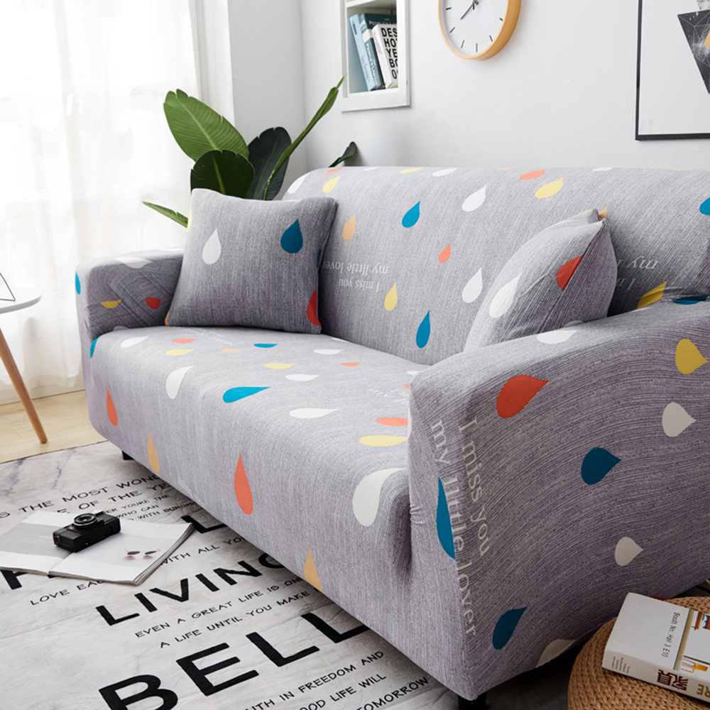 1-2-3-4-Floral-Elastic-Sofa-Cover-Slipcover-Stretch-Couch-Furniture-Protector thumbnail 16
