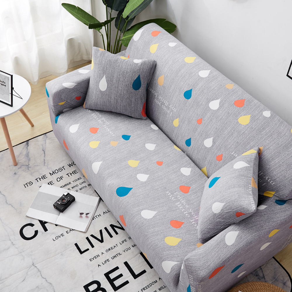 1-2-3-4-Floral-Elastic-Sofa-Cover-Slipcover-Stretch-Couch-Furniture-Protector thumbnail 17