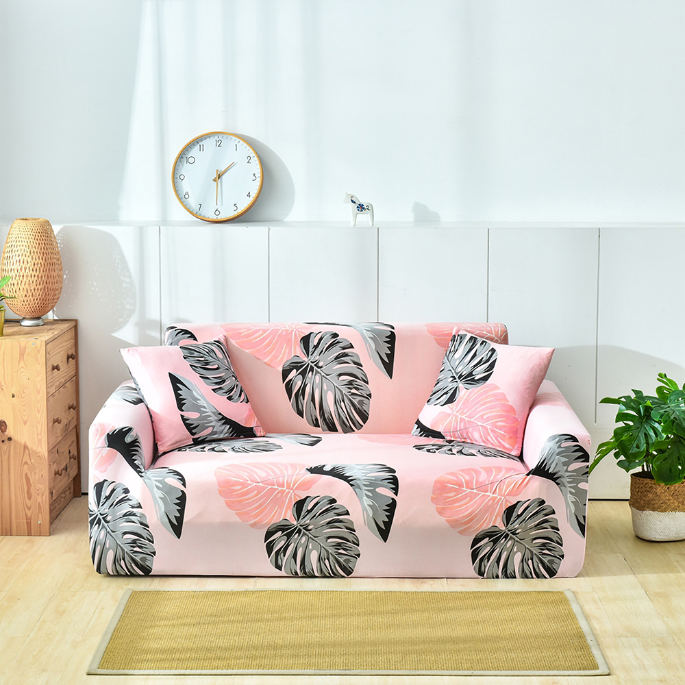 1-2-3-4-Floral-Elastic-Sofa-Cover-Slipcover-Stretch-Couch-Furniture-Protector thumbnail 26