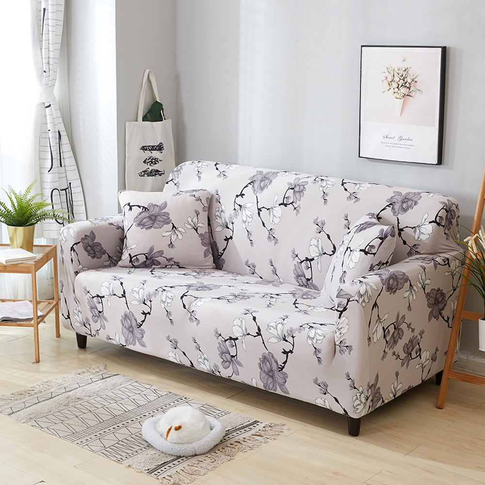 1-2-3-4-Floral-Elastic-Sofa-Cover-Slipcover-Stretch-Couch-Furniture-Protector thumbnail 49