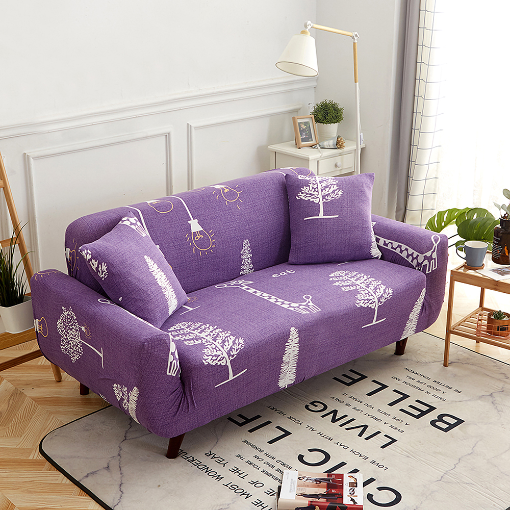 1-2-3-4-Floral-Elastic-Sofa-Cover-Slipcover-Stretch-Couch-Furniture-Protector thumbnail 59