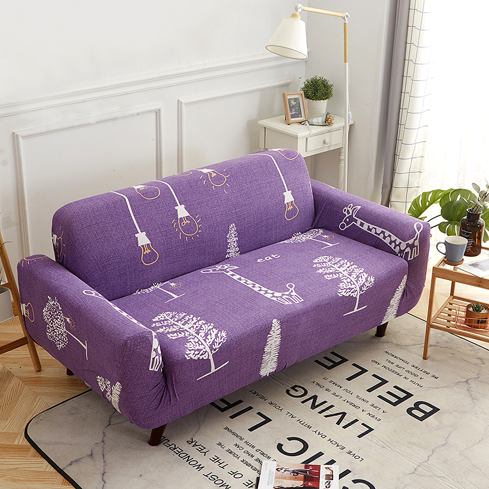 1-2-3-4-Floral-Elastic-Sofa-Cover-Slipcover-Stretch-Couch-Furniture-Protector thumbnail 61