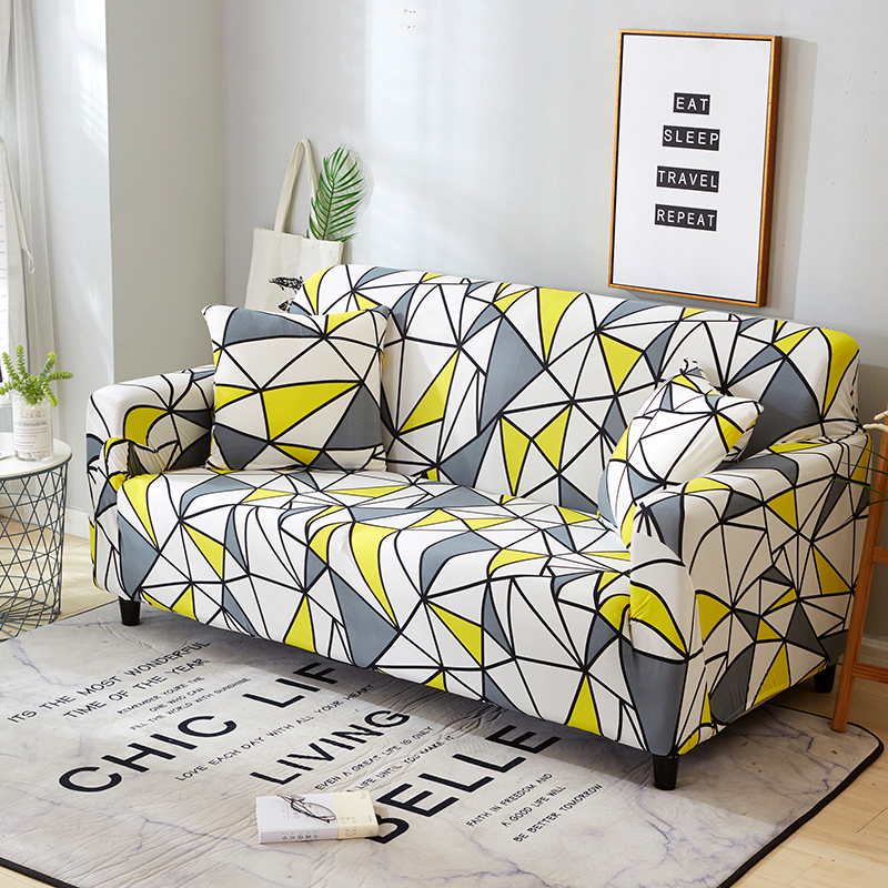 1-2-3-4-Floral-Elastic-Sofa-Cover-Slipcover-Stretch-Couch-Furniture-Protector thumbnail 74