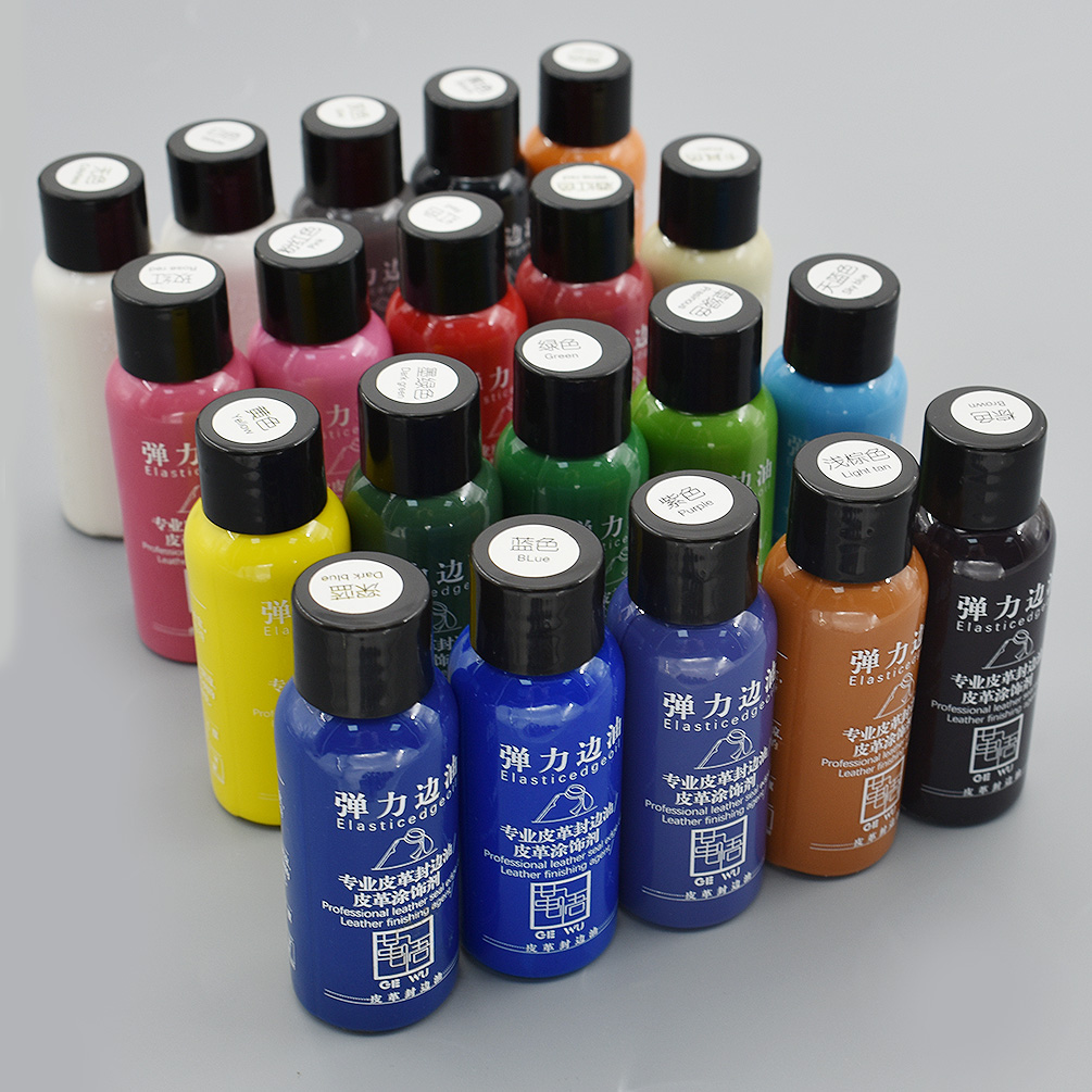 Details about Matte Leather Edge Oil Dye Highlights Professional DIY  Leather Paint Craft Tools
