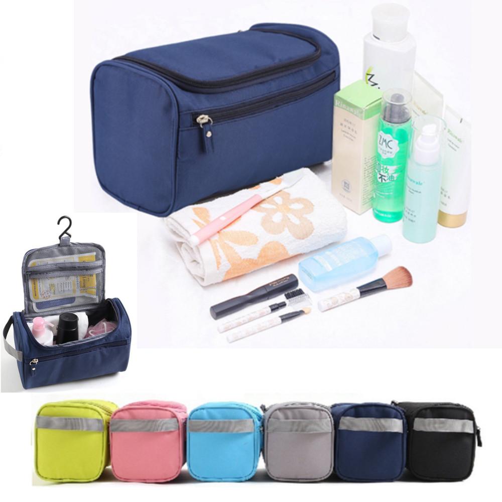 Waterproof Travel Wash Bags Hanging Toiletry Organizers Shaving Cosmetic Bag