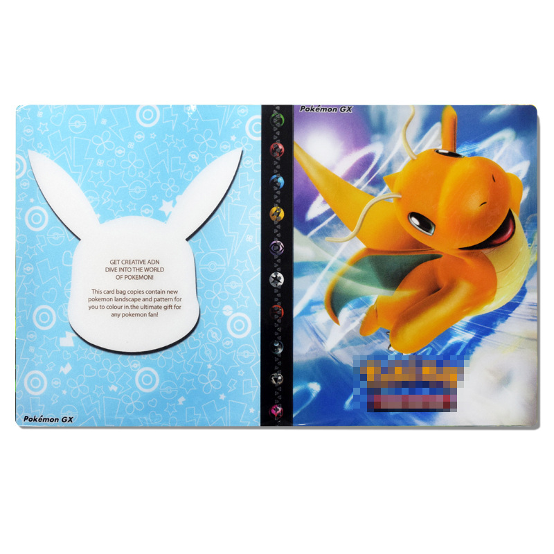 Pokemon Cards Album Binder Folder Book List Collectors Two