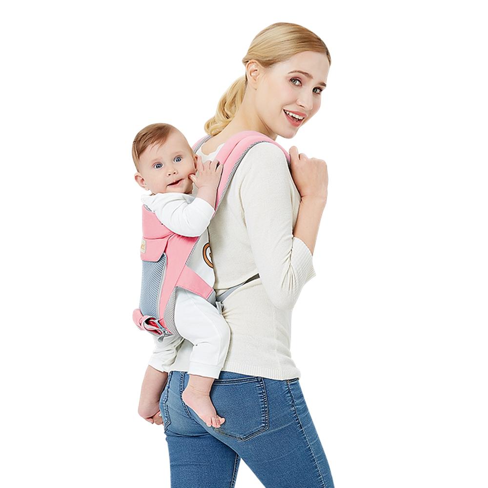 ac713cff5455 3 en 1 bébé nourrisson transporteur Sling ergonomique respirant sac à dos  siège hanche parasol