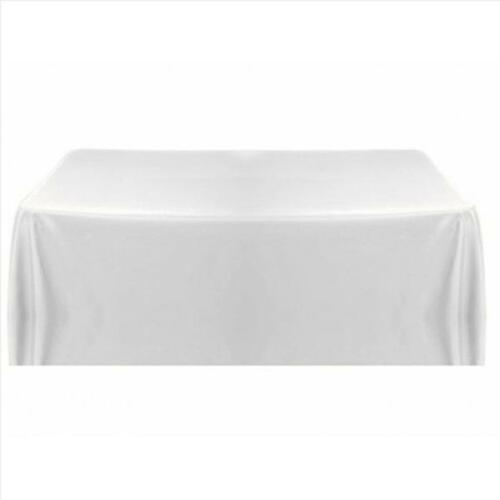 blanc nappe table housse pour banquet mariage fête dîner décor