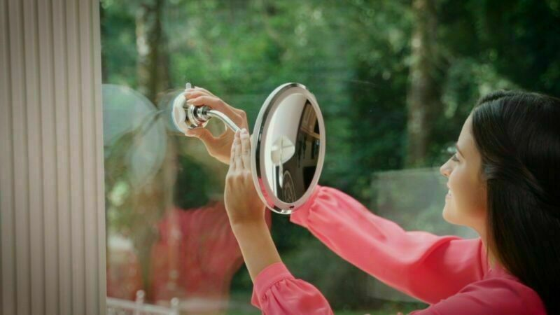 360 My Flexible Illuminated Mirror 10x Mag Flexi With