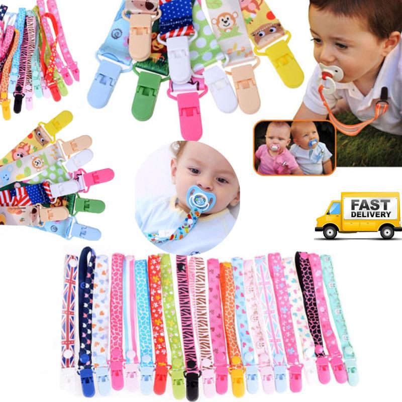 Selebration Dummy Clip Dummy Strap Baby Pasifier Holder  UK