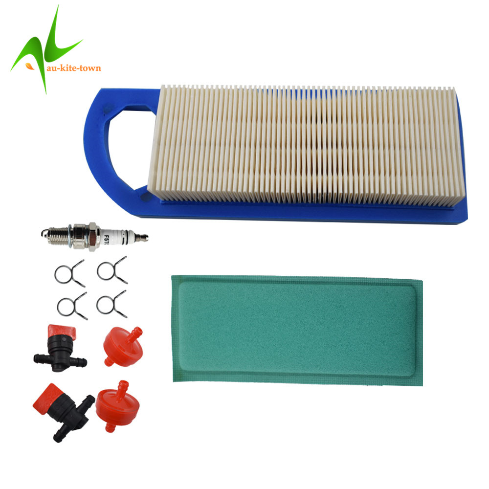 Air Filter Combo for Briggs /& Stratton 697153 698083 795115 697015 653202 Engine